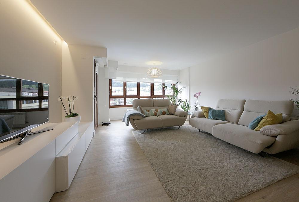 Cocina sala de estar, concepto abierto - Diseño, Mirari Aranburu